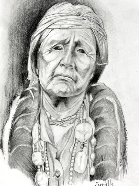 Hupa Woman